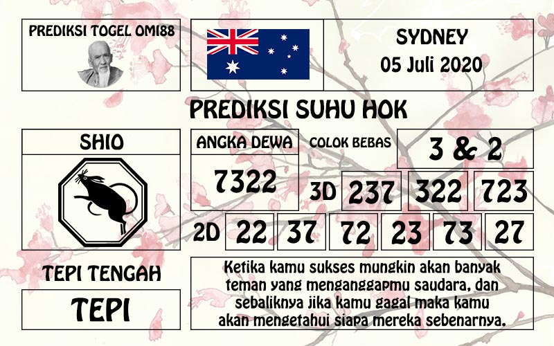 togel sd 05-07-20 asianbookie